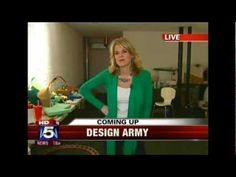 DESIGN ARMY on FOX 5 News - Part 1 Morning News, 5 News, Graphic Design Studios, Fox, Army, Gi Joe, Military, Foxes, Armies