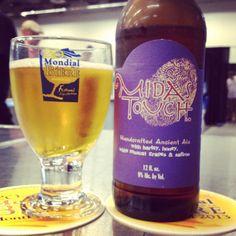 Cerveja do dia: Dogfish Head Midas Touch (9,0% / Milton - Estados Unidos) #cervejadodia