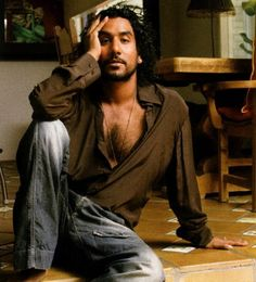 "Naveen Andrews (I'm just now getting around to watching ""Lost""...duhhhh) Oh, dear."