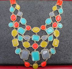 Web of Colors Necklace | WINK AND FLIP