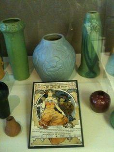 Van Briggle Pottery Colorado Springs | Pioneer Museum, Colorado Springs, CO. The largest Van Briggle Exhibit.