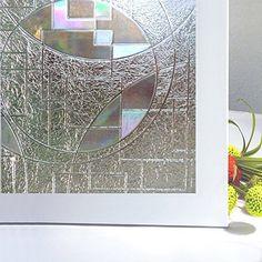 Un brise-vue adhésif pour occulter le bas de vos vitres. Le haut ...