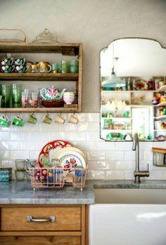 vintage en la cocina