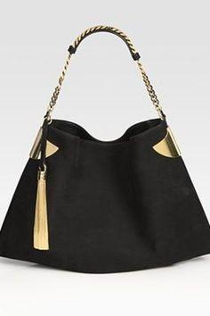 Gucci 1970 Nubuck Shoulder Bag