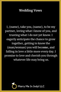 Wedding Readings, Wedding Ceremony, Wedding Scripture, Wedding Vows Examples, Love You Images, Future Love, Marriage Vows, When I Get Married, Civil Wedding