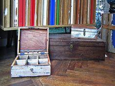 #scatole #vintage #valterpisati #arredo milano