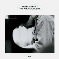 The Koln Concert by Keith Jarrett - why we fell in love with improvisational piano jazz - wish the final track from the vinyl was on the cd (sigh)