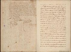 Documentos de Cervantes. Manuscrito