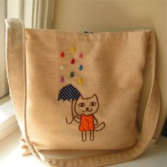 The cuteness. You want it. Kid's messenger bag. $54