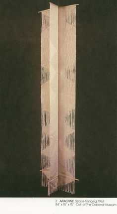 "// ""Arachne"" by Trude Guermonprez (1963) K.H.S."