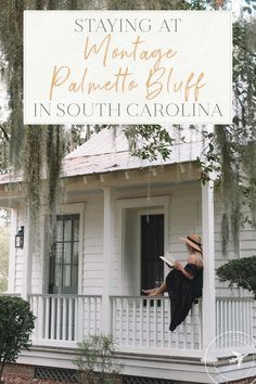 Montage Palmetto Bluff in South Carolina Review Slow Travel, Travel Usa, Travel Tips, Montage Laguna Beach, Palmetto Bluff, Live Oak Trees, Beautiful Hotels, Hotels And Resorts, South Carolina