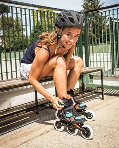 rides the Macroblade when she's on land. Check out her interview. Record Holder, World Records, Skating, Champion, Interview, Training, Bike, Workout, Check