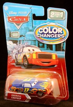 Color Changers DARRELL CARTRIP Disney / Pixar CARS 2 Paint Jobs In 1 Vehicle (1:55 Scale) Unknown http://www.amazon.com/dp/B004O5IK5Y/ref=cm_sw_r_pi_dp_iI4Mwb14HK98M