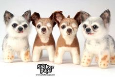"#NMDR National Mill Dog Rescue has teamed with 'The Shelter Pups' to raise money that will support two of our campaigns, ""Harley to the Rescue"" and ""Harley's Puppy Mill Education & Outreach Fund"". Order a custom stuffed animal of your favorite pet and 15% of the purchase price will go directly to us. You can even order a Harley or Teddy stuffie (through June 15th)!"