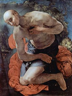 Jacopo Pontormo - The Penitence of St. Jerome (1527)