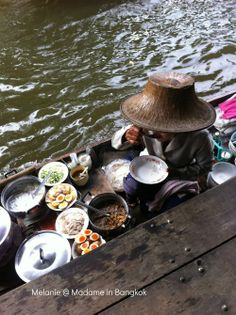 Floating market along the khlong # Madame in Bangkok