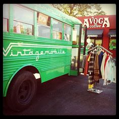 vintagemobile & avoca coffee. success in ftw.