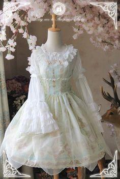 -The Kingdom of Fairies- Lolita JSK Version II #Leftovers