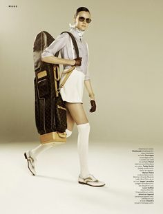 Sans Faute Jamily Wernke by Daniel Riera for Stylist France 2nd May 2013