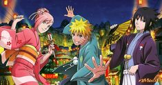 Kakashi, Naruto E Boruto, Naruto Comic, Sakura And Sasuke, Naruto And Sasuke, Sakura Haruno, Hinata, Naruto Team 7, Naruto Boys