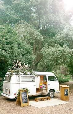 Unique Vintage Volkswagen Bus Photo Booth based in Northern California- serving…