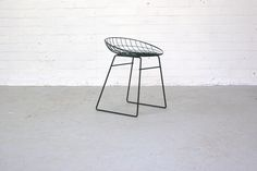 Wire Stool KM05 by Cees Braakman for Pastoe