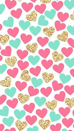 Imagen de wallpaper, heart, and hearts