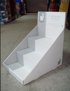 Populat Promotion Card Paper Desk Top Unit