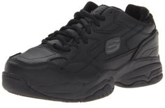 Skechers for Work Women's 76517 Felix Doozer Steel Toe Work Shoe cool