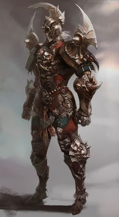 Cool Character Design, Warrior. #characterdesign #conceptart…