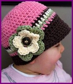 gorros a crochet - Buscar con Google