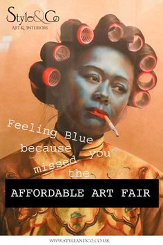 Just what is Affordable Art? We took a trip to The 'Affordable Art Fair' in Battersea to find out. Interior Blogs, Quirky Decor, Affordable Art Fair, Don't Worry, Home Art, Contemporary Art, Art Gallery, Arts And Crafts, Wall Art