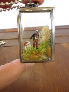 My Very Own Little Zombie - This is a miniature terrarium with you guessed it, your very own little walker encased within. Borderline creepy but a fun gift for fans of The Walking Dead!!!!