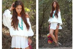 off-shoulder dress...sexy and natural s-s-style-everything