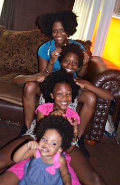 Natural Hair-It's a Family Affair!
