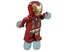 Lego Iron man mk 43 minifigur Avengers Super Heroes
