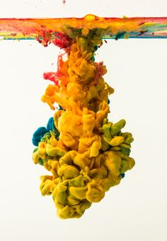 Impact, color and form by Carlo Barros, via Behance