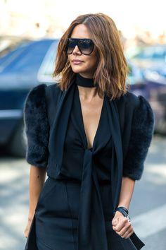 Paris street fashion - HarpersBAZAAR.com