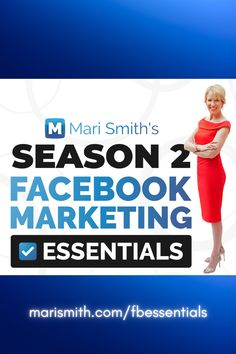 Are you struggling to make Facebook and Instagram work for you this year? You're not alone! Get exactly what you need to grow your business! Due to popular demand, I'm bringing back 'Season 2' of my Facebook Marketing Essentials online training program. Come learn how to grow your business using Facebook, Instagram, and Messenger to get real, measurable results. #facebookcourse #facebookmarketing #facebookessentials #onlinecourse #instagramcourse Online Marketing Tools, Facebook Marketing, Internet Marketing, Social Media Marketing, Make Facebook, Business Pages, Growing Your Business, Training Programs, Learning