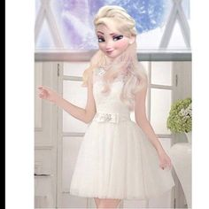 This is navaeh. She loves dresses and wants to be a fashion designer. She was born June Disney Characters Pictures, Disney Princess Pictures, Jack Frost, Disney Princess Frozen, Princess Cartoon, Cute Disney, Disney Style, Elsa E Jack, Princesa Ariel Disney