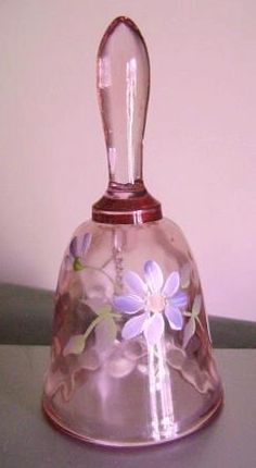 Dusty Old Thing  Glass Bell--My grandmother had one.
