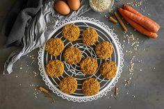 Te explicamos paso a paso, de manera sencilla, cómo hacer la receta de galletas de avena y zanahoria. Tiempo de elaboración, ingredientes, Healthy Snacks, Healthy Eating, Snacks Saludables, Sin Gluten, Grill Pan, Sugar Free, Grilling, Easy, Vegetarian