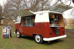 british coffee bus