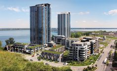 POINTE-NORD   Montreal   Architecture   Interior Design   Evolo   Residential   Neighborhood Montreal Architecture, Interior Architecture, Interiores Design, Marina Bay Sands, San Francisco Skyline, The Neighbourhood, City, Building, Travel