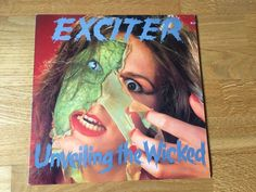 "Exciter - Unveiling The Wicked 12"" LP 12"" Record"