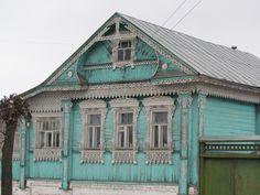 Russian izba (cabine)