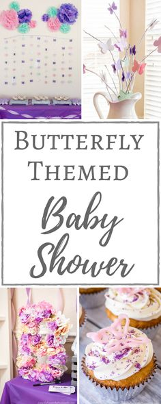 Simply Beautiful By Angela: Butterfly Themed Baby Shower