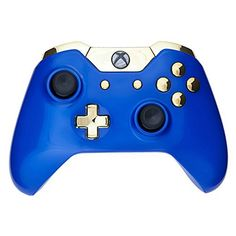 Mod Freakz ShellButton Kit Color and Gold Collection  Royal Blue Gold NOT A CONTROLLER For Xbox One Gen 1 Controllers ONLY  No Headphone Jack * More info could be found at the image url.Note:It is affiliate link to Amazon.