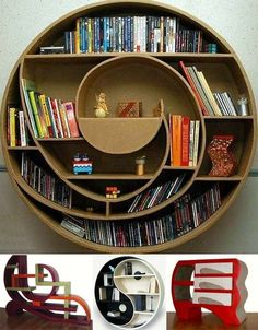 Book Shelf Fashion from Furniture Fashion - love the options available with this piece! by greenqueen