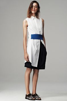 Thakoon Addition Spring 2014 Ready-to-Wear Collection Slideshow on Style.com